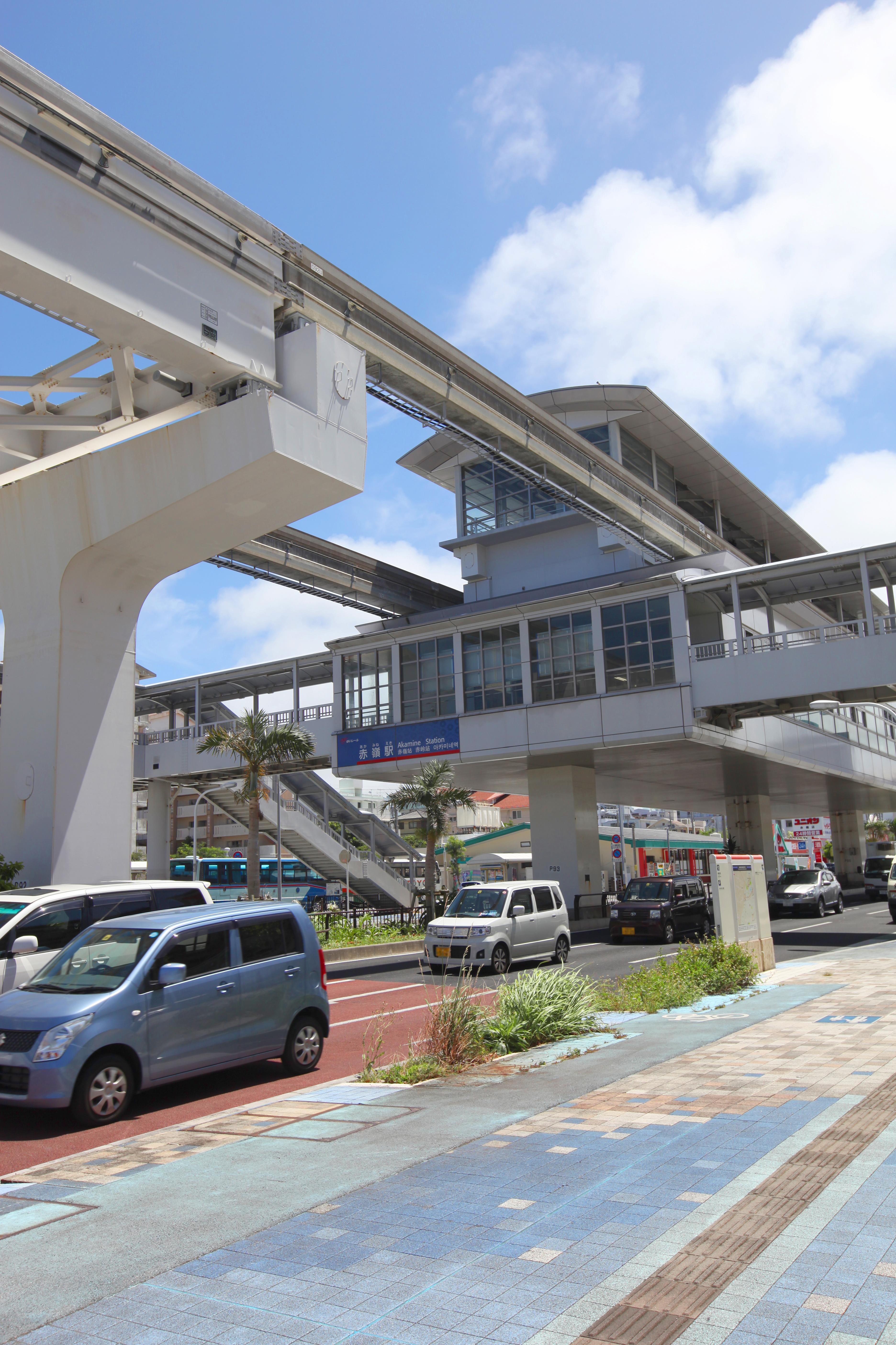 モノレール・赤嶺駅(縦):No.0...