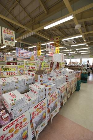 道の駅 豊崎・店内(縦):No.0188