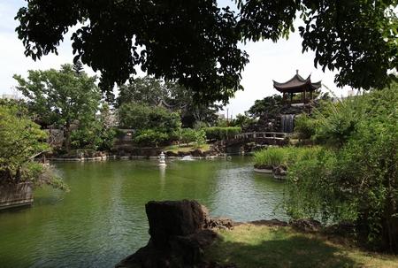 福州園・庭園(横):No.0116