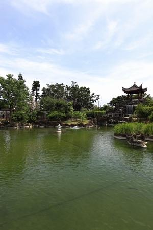 福州園・庭園(縦):No.0119