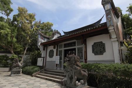 福州園・入口(横):No.0122