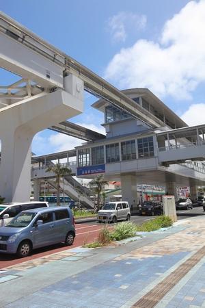 モノレール・赤嶺駅(縦):No.0579