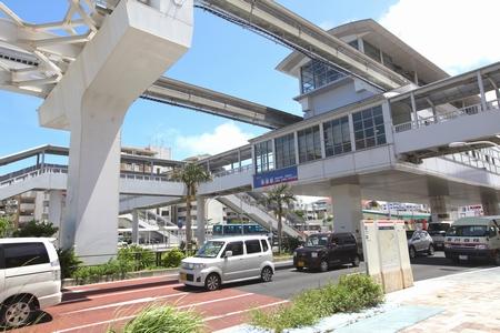 モノレール・赤嶺駅(横):No.0580
