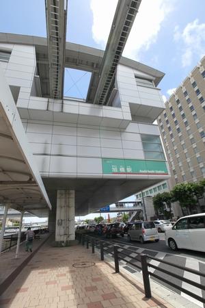 モノレール・旭橋駅(縦):No.0560