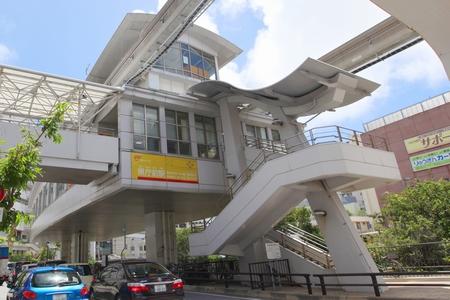モノレール・県庁前駅(横):No.0572
