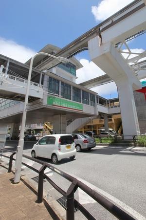 モノレール・奥武山公園駅(縦):No.0563