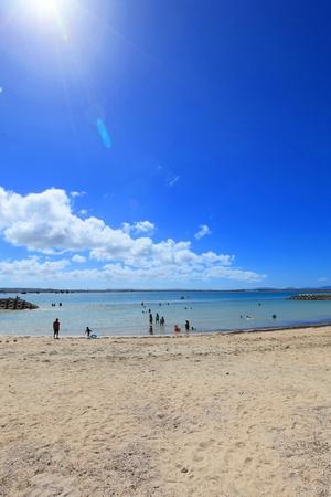 浜ふるさとビーチ(縦):No.0465