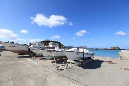 浜比嘉島・船(横):No.0332