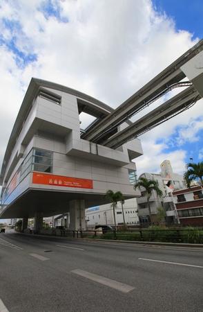 モノレール・古島駅(縦):No.0574
