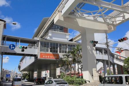 モノレール・安里駅(横):No.0562