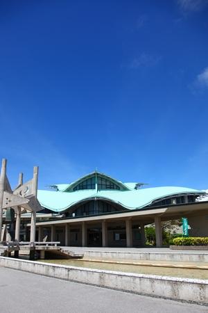 沖縄コンベンションセンター・展示棟(縦):No.0531
