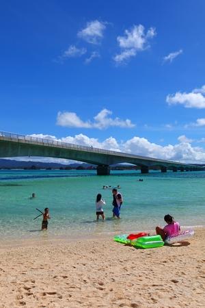 トゥンジ浜・古宇利ビーチ(縦):No.0488