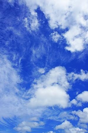 空のイメージ(縦):No.0620