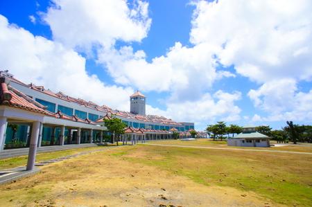 沖縄県平和祈念資料館(横):No.0835