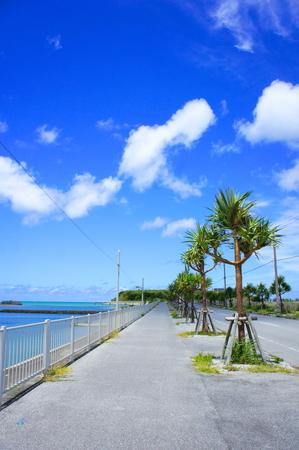 瀬長島・海中道路(縦):No.0813