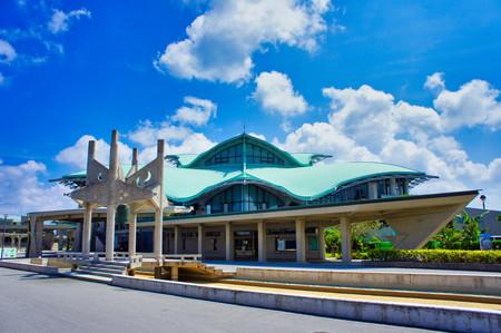沖縄コンベンションセンター・展示棟(横):No.0950