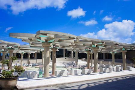 沖縄コンベンションセンター・パーゴラ(横):No.0952