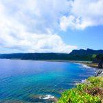 辺戸岬から見える海(縦):No.0926