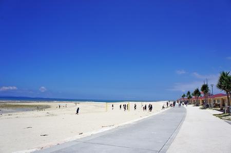 豊崎美らSUNビーチ (横):No.0978