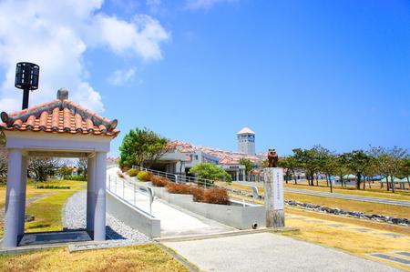 沖縄県平和祈念資料館(横):No.0846
