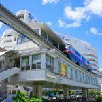 モノレール・県庁前駅 (縦):No.0995