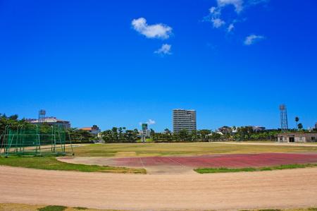 奥武山総合運動場・陸上競技場(横):No.0962