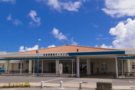 石垣港離島ターミナル・外観(横):No.1377