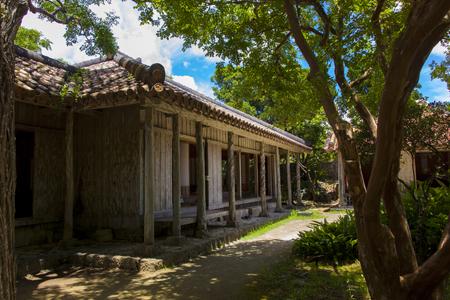 おきなわ郷土村・地頭代の家(横):No.1159