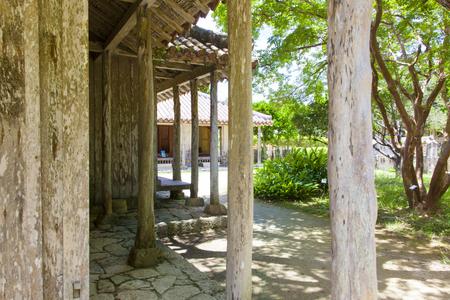 おきなわ郷土村・地頭代の家(横):No.1162