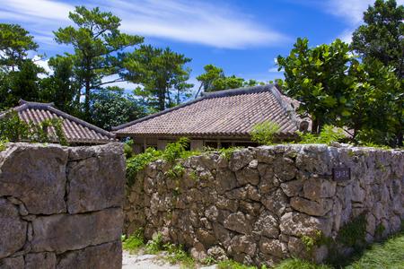 おきなわ郷土村・近年の民家(横):No.1180
