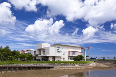 恩納村博物館・川辺付近(横):No.1093