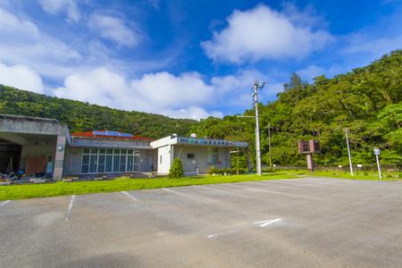 東村立 山と水の生活博物館・外観(横):No.1350
