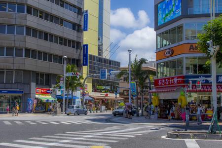 国際通り・県庁北口の交差点より(横):No.1551