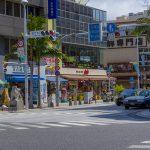 国際通り・県庁北口の交差点より(横):No.1553