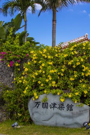 万国津梁館・石碑(縦):No.1469