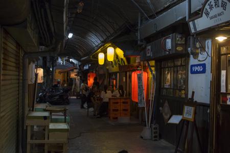 栄町市場(夜)(横):No.1605