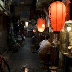 栄町市場(夜)(縦):No.1609