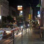 栄町(夜)・通り沿い(横):No.1615