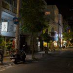 栄町(夜)・通り沿い(横):No.1616
