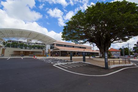 南の駅やえせ・駐車場からの外観(横):No.1706
