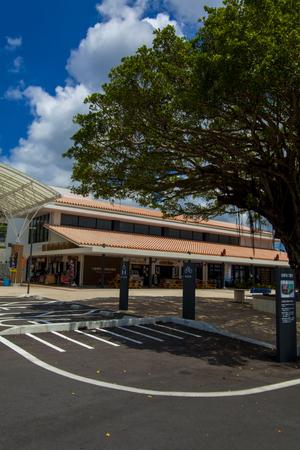 南の駅やえせ・駐車場からの外観(縦):No.1718