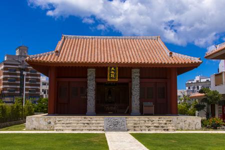 久米至聖廟(久米孔子廟)・大成殿(横):No.1943