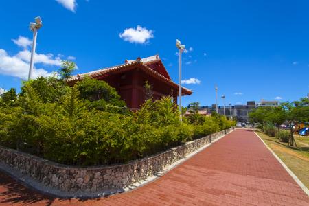 久米至聖廟(久米孔子廟)・公園側(横):No.1905