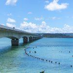 古宇利大橋と古宇利ビーチ(縦):No.1988