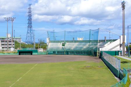 具志川野球場・外野側からのグラウンド(横):No.2087