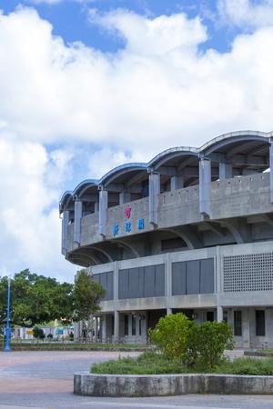 北谷公園野球場・外観(縦):No.2093