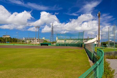 具志川野球場・外野側からのグラウンド(横):No.2023