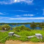 倉敷ダム・ダム湖が見える景色(横):No.2031