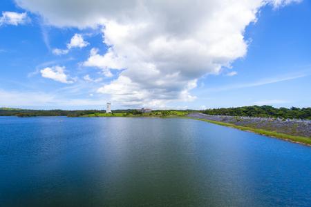 倉敷ダム・ダム湖(横):No.2044
