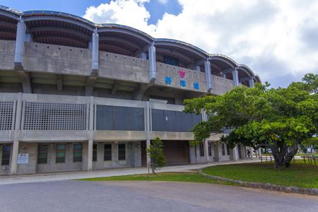 北谷公園野球場・外観(横):No.2059